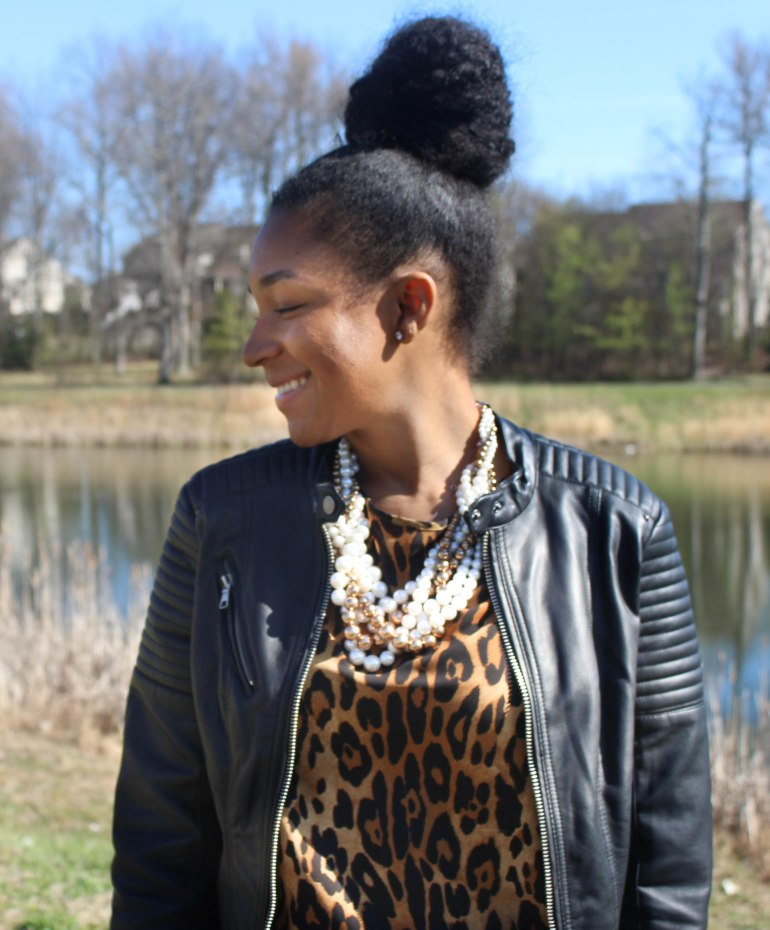 Leopard Top with a pop of color-7